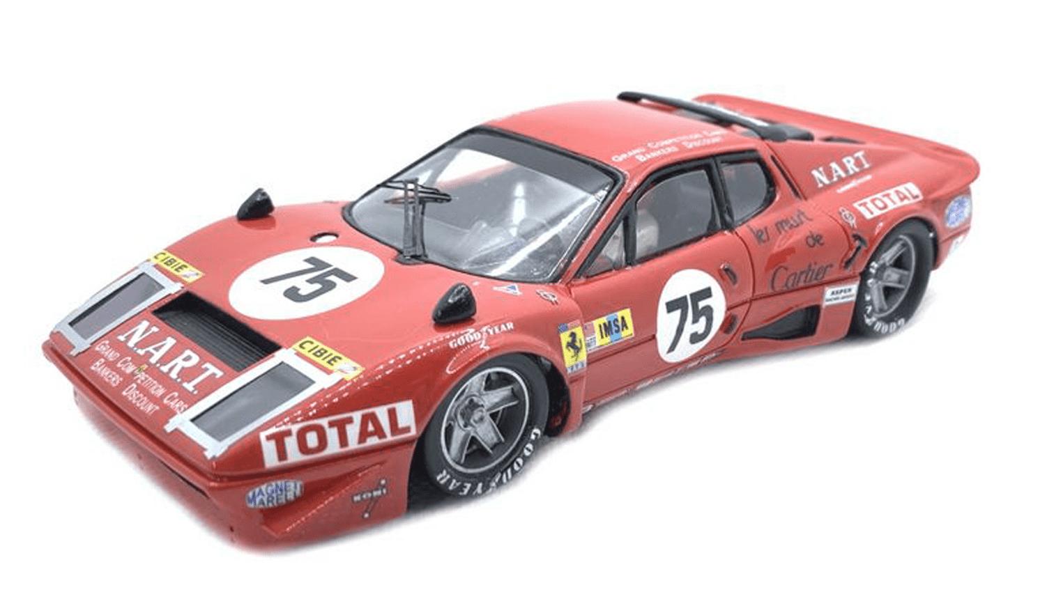 De enige Ferrari in Le Mans…