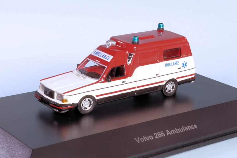 Nederlandse Volvo ambulance