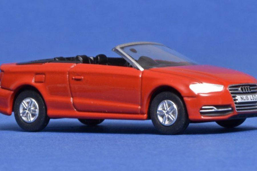Kleurrijke Audi van Oxford Diecast